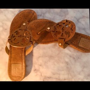 Tory Burch leather miller sandals